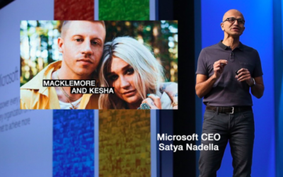 "Superstars Macklemore and Kesha Create New ""Good Old Days"" with Microsoft Build 2018"