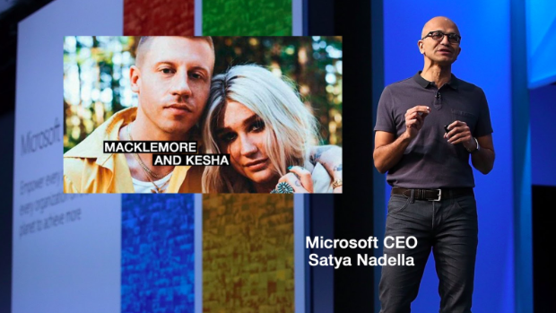 """Superstars Macklemore and Kesha Create New """"Good Old Days"""" with Microsoft Build 2018"""